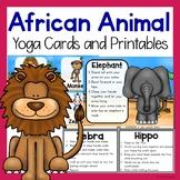 African Animal Themed Yoga