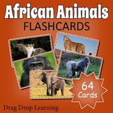 African Animals Flashcards