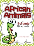 African Animals - A First Grade Literacy Center