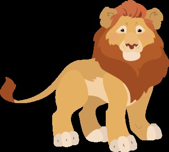 Lion Test clipart