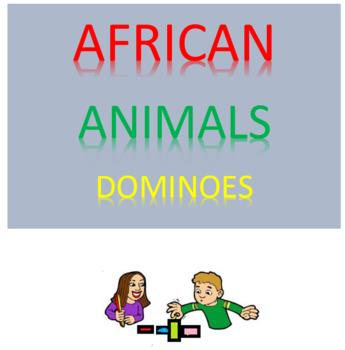 African Animals Dominoes