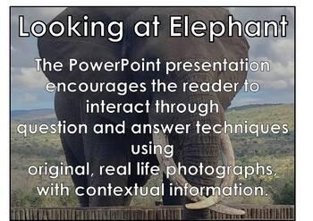 African Animals: Elephant PDF presentation