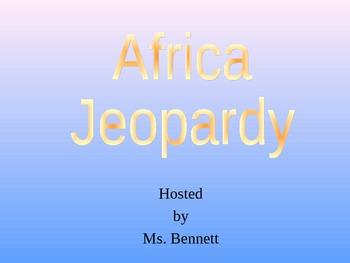 Africa Jeopardy