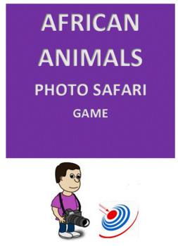 African Animals Photo Safari Game