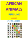 African Animals Pipe-Line Game