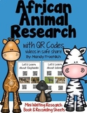 African Animals QR Codes Research