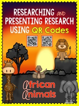 African Animals- Researching and Presenting Animal Reports