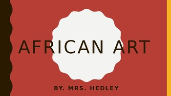 African Art PowerPoint Lecture (APAH)