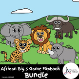 African Big 5 Game Flipbook Bundle - Science - Nonfiction Research Project