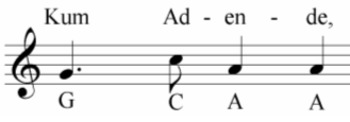 African Call and Response Rhythm Worksheet