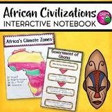 African Civilizations Interactive Notebook Unit INB World History