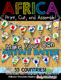 Africa Classroom Decor Make Your Own Pennant Banner