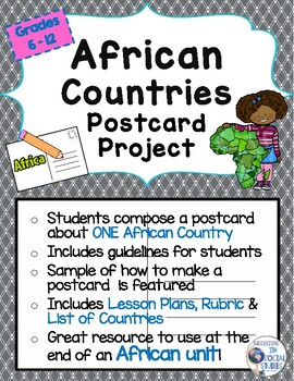 Postcard project teaching resources teachers pay teachers stopboris Image collections