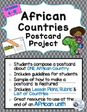African Countries Postcard Project
