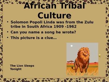 African Culture - Masai Tribe