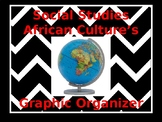 African Culture's Researching Graphic Organizer