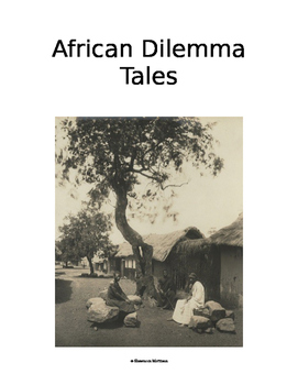 African Dilemma Tales:  Culture of Africa