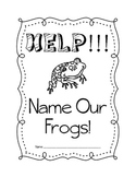 African Dwarf Frogs Naming Activity