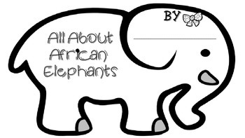 African Elephant Research Booklet