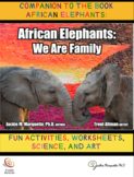African Elephants-We are family: FUN ACTIVITIES, WORKSHEET