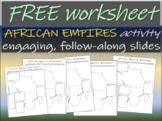 African Empires Worksheet