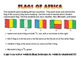 African Flag Fraction Task