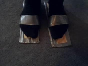 African Folk Recyclists: Design your own flip flops