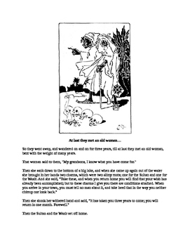 African Folk Tale - The Sultan's Snake-Child