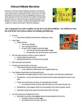 African Folktale Narrative
