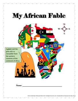 African Folktale: Student Work Journal
