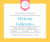 African Folktales - Geography / Language Arts Lesson Plan