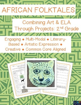 African Folktales: The Cat Who Came Indoors - Combining Art & ELA - Grade 2