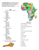 African Geography 3D Map