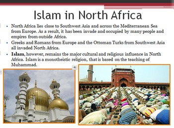 African Geography & Culture PowerPoint