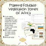 African Geography mapping foldable activity (ISN friendly)