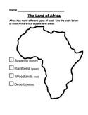 African Habitat Map