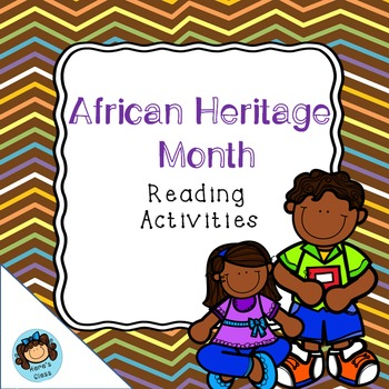 African Heritage Month Reading Activities