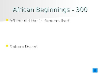African History Jeopardy Review