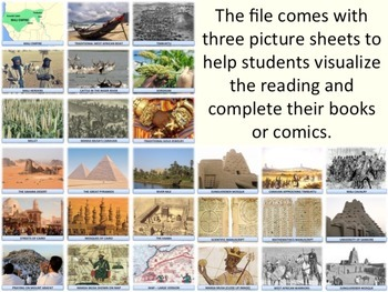West African History - Mansa Musa - Storybook & Comic Strip