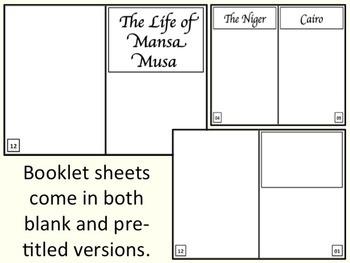Mansa Musa - Storybook & Comic Strip