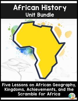 African History Unit Bundle