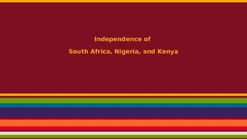 African Independence