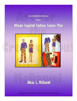African Inspired Fashion Lesson Plan