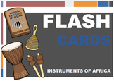 African Instruments & Sorting Game