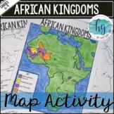 African Kingdoms (Axum, Ghana, Mali, Songhai) Map Activity