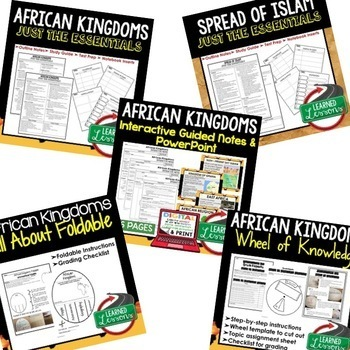 African Kingdoms BUNDLE (World History Bundle)