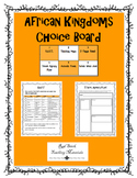 African Kingdoms Choice Board