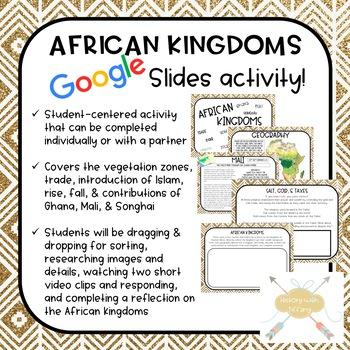 African Kingdoms Digital Activity (Google Slides!)