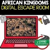 African Kingdoms Digital Escape Room, Breakout Room Test Prep Distance Learning