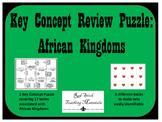 African Kingdoms Key Concepts Puzzle